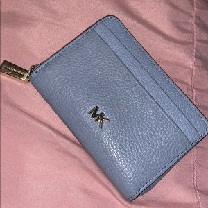 Michael Kors light blue wallet